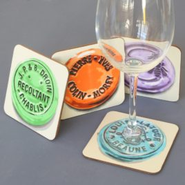 Coasters – White Burgundy
