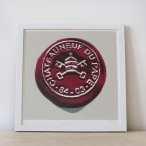 Limited Edition Print - Châteauneuf-du-Pape